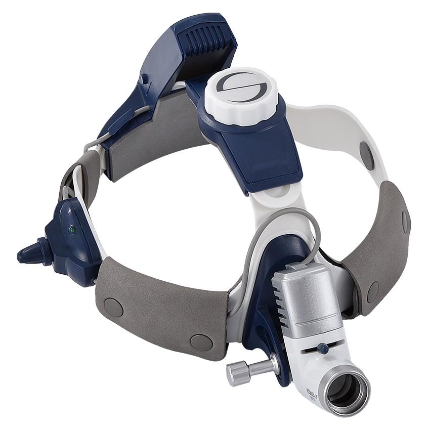 KD-202A-7 Professional Medical Farol Exigível LED Head Light Altura Ajustável Dental Cirúrgica Farol 5 W 50000 H