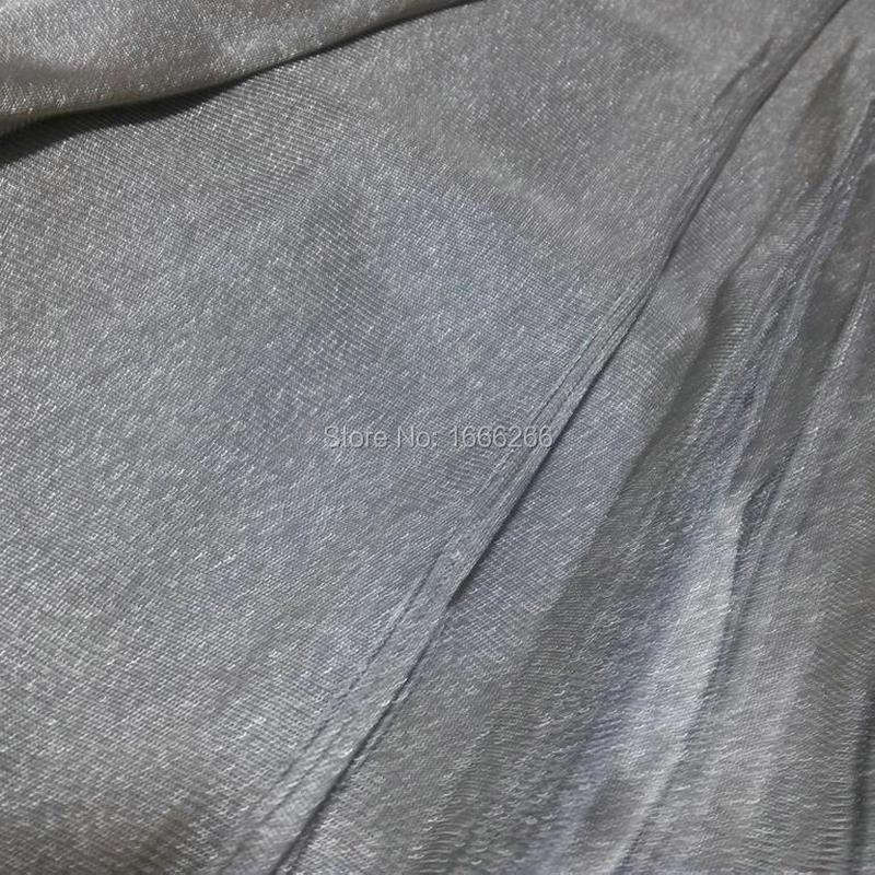 Ткань из серебряного волокна с серебряным покрытием проводящая ткань YSILVER81