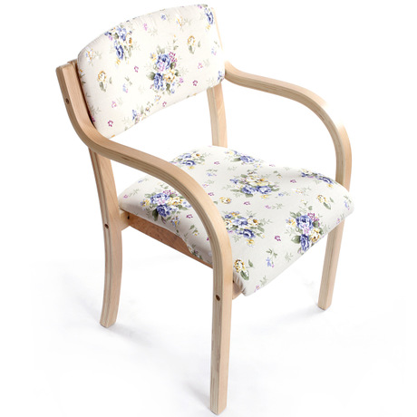 Cafe Chairs Cafe Furniture solid wood+cotton fabric coffee chair dining chair chaise nordic furniture minimalist 53*53*83cm new