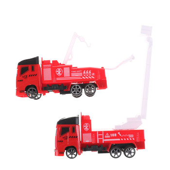 Educational Mini Truck Children's Vehicles Toys Mini Fireman Toy Fire Truck Car Boy Toy Christmas Birthday Gifts image