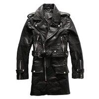 Winter Genuine Sheep Leather Jacket Clothing Male Sheepskin Turn Down Collar Casual Men S Wind