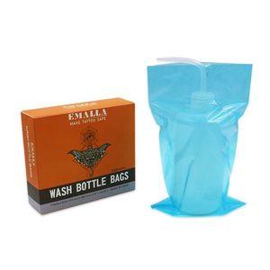 Image 1 - Бутылки для мойки татуировок с микроблейдинга, 250 шт., одноразовые бутылки для мытья, аксессуары для аксессуаров для татуировки, чистящие принадлежности