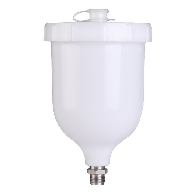 For Manual spray gun Devilbiss GFG and TT 600ml Plastic materialSpray paint pot