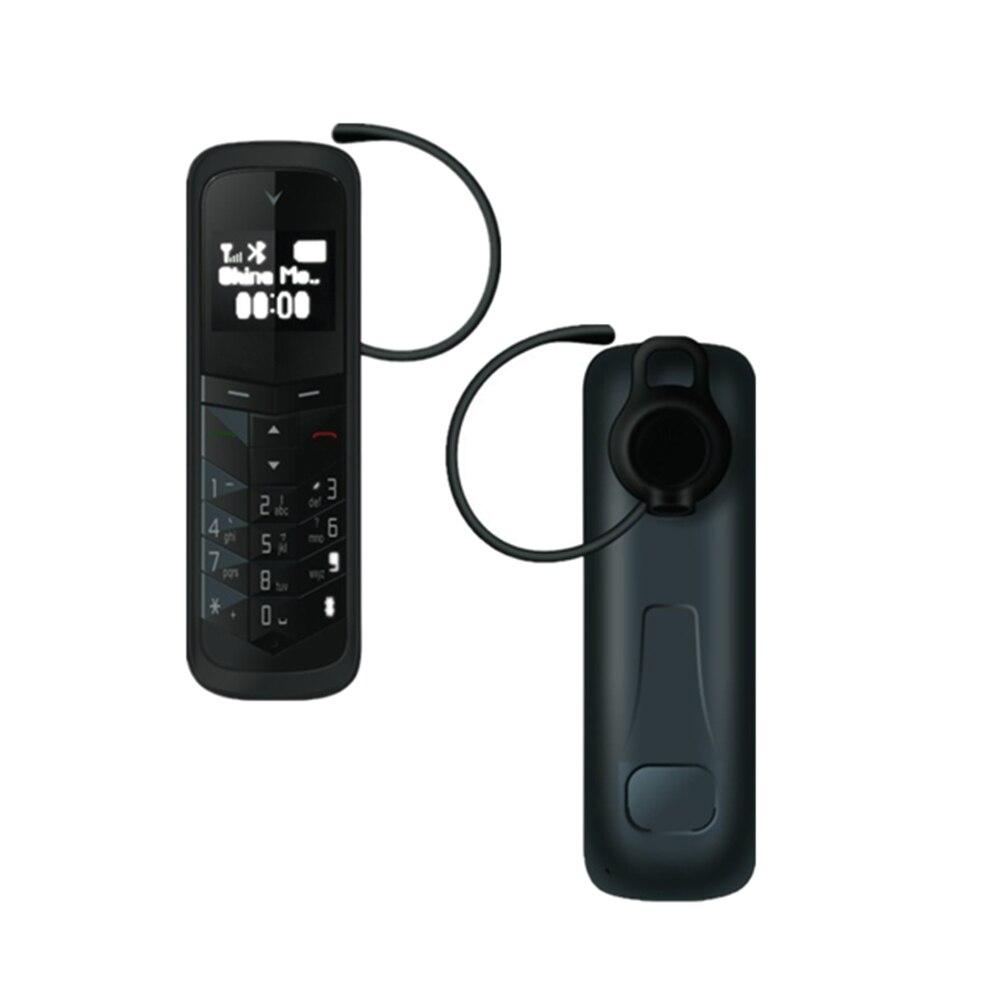 Huacp BM50 Беспроводной Bluetooth наушники маленький мини крошечный мобильный телефон Bluetooth Dialer 0,66 дюймов MP3 плеер