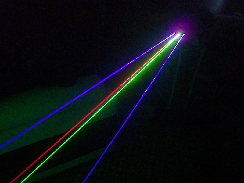 Freies Verschiffen 3 Farbe LED Laser Handschuhe Grün Blau Rot Licht - Partyartikel und Dekoration - Foto 4