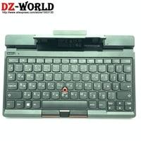 New original Bluetooth RU Russian Keyboard W/ stand for Lenovo Thinkpad phone Tablet Laptop series Teclado FRU 04Y1505