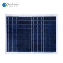 Panneau Solaire 100w 12v Batterie Photovoltaic Panels 50W 18V 2 Pcs/lot Marine Boat Yacht Caravan Camping Solar Light