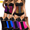 Hot  Waist Trainer Butt Lifter Women Slimming Body Shapers Plus Size Latex Waist Cincher Waist Belt Corsets