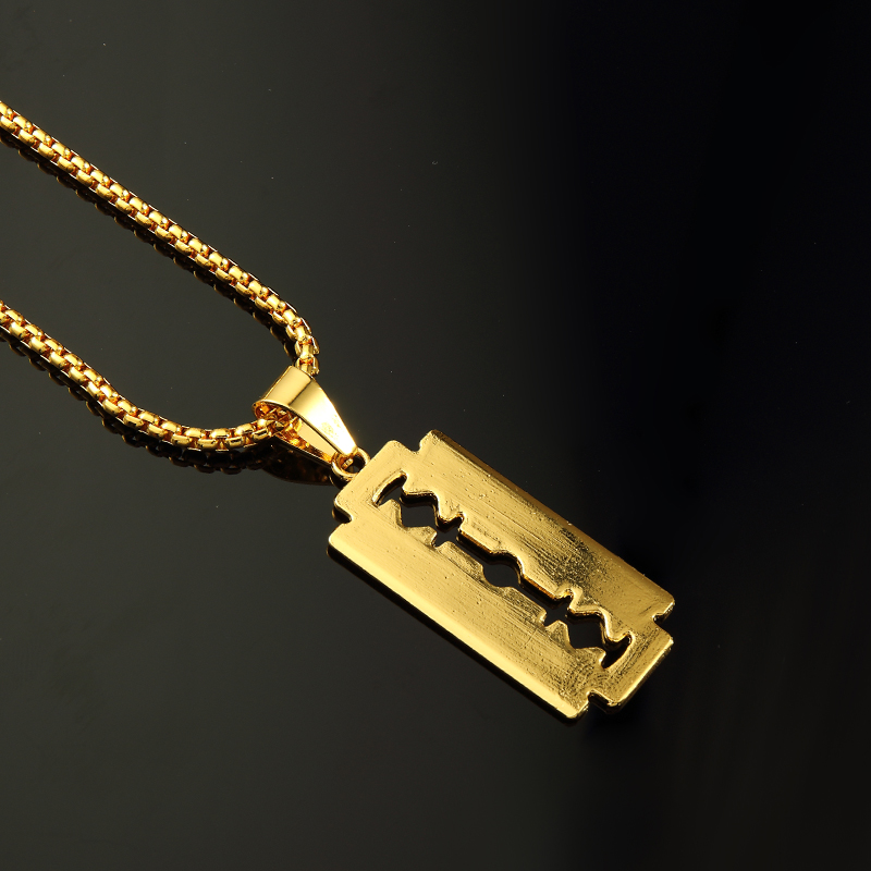 Wholesale bling charm nightclub small blade men women hip hop wholesale bling charm nightclub small blade men women hip hop necklaces pendants chains rapper jewelry gifts in pendant necklaces from jewelry accessories aloadofball Images