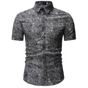 2019 Men Shirt Summer Style Pa