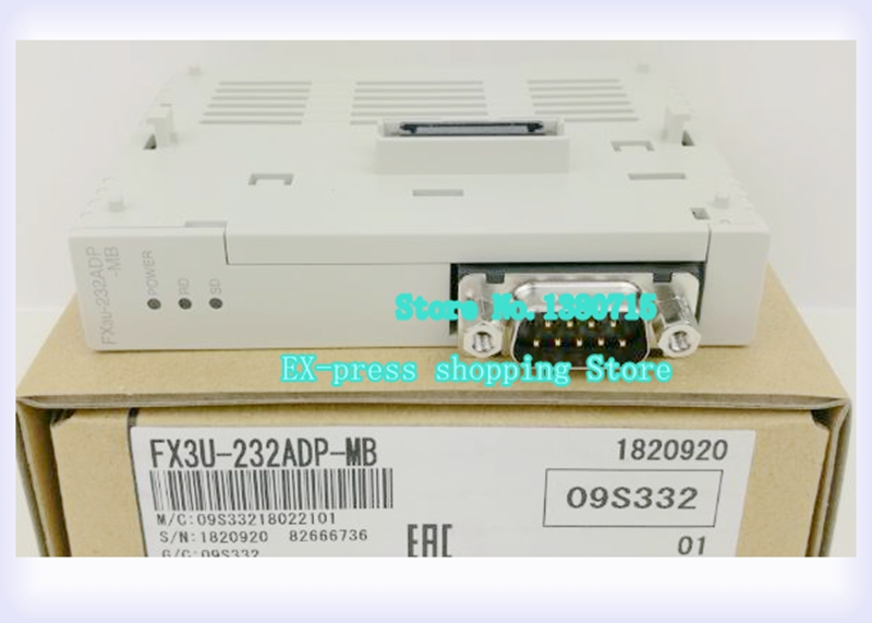 FX3U-232ADP-MB new boxed module PLC fx3u 4ad adp fx3u 4ad adp new in boxed