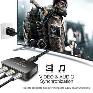 Image 4 - HDMI Switch 3X1, atolla 3 Port HDMI Switcher 2.0 Selector 4K Switch Box High Resolution Video, High Speed 3D HDMI Port Adapter