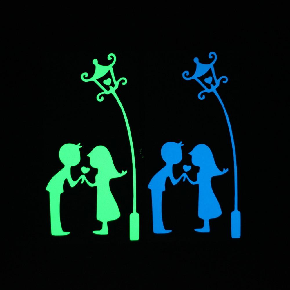 Courtship-Under-the-Lamp-Luminous-Switch-Decoration-Sticker-Romantic-Wall-Decor-Decals-Boys-Girls-Room-DIY (1)