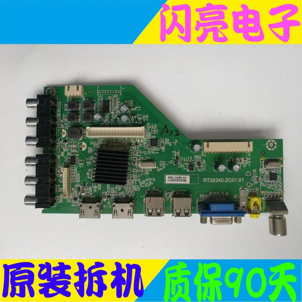 Accessories & Parts Main Board Power Board Circuit Logic Board Constant Current Board Led 40f1100c Motherboard Rt26340-zc01-01 With Screen V400hj6-p Carefully Selected Materials Audio & Video Replacement Parts