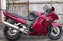 Hot Sales,For Honda CBR1100XX Blackbird 1996-2007 Dark Red Full Set ABS Motorcycle Fairings Christmas Gifts (Injection molding)