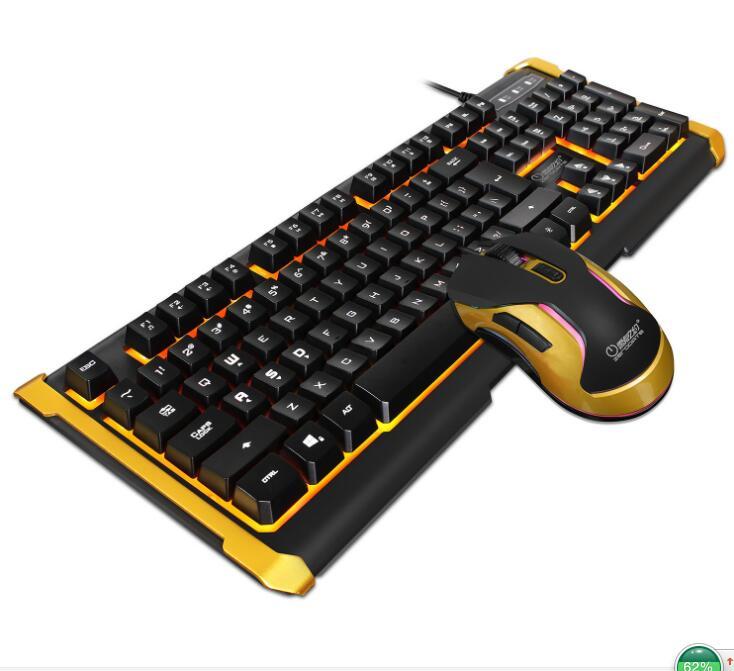 usb gaming keyboard mouse combo gamer mouse sets wired led backlit multimedia ergonomic in. Black Bedroom Furniture Sets. Home Design Ideas