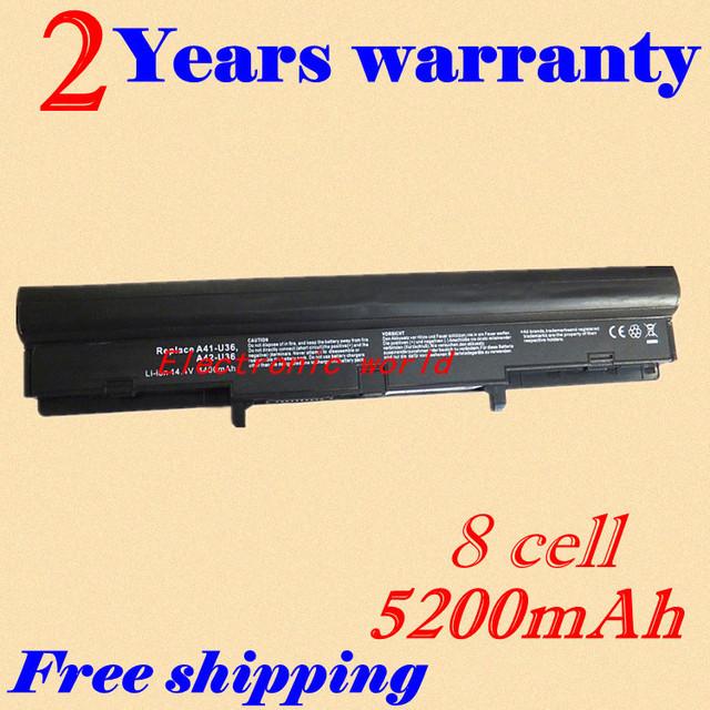 Jigu 4400 mah da bateria do portátil para asus 4inr18/6 4inr18/65-2 a41-u36 a42-u36 u32 series u32u u32vj u32j u32v u32vm u32jc u32vd