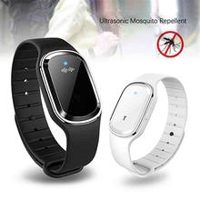 Portable Electronic Mosquito Repellent Bracelet Waterproof Watch Anti Wristband Pregnant Kids Killer