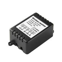 Ktnnkg DC12V リモートリレーモジュールワイヤレス調光スイッチスマートホームコントローラ受信機 EV1527 のためのユニバーサル 433 433mhz の rf