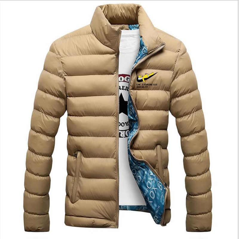 新しい冬のダウンジャケット男性カジュアル暖かいフード付きコート防風超軽量薄型アヒルダウンジャケットパーカー男性生き抜く