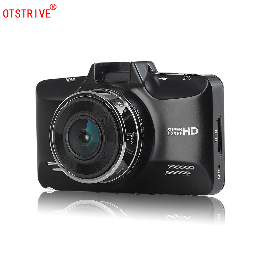 Otstrive Car Truck Mini Hidden DVR Digital Video Recorder Ambarella A7 Chipset Full HD 1296P Camcorder GPS Logger Option DVR ambarella a12 chipset car gps dvr recorder