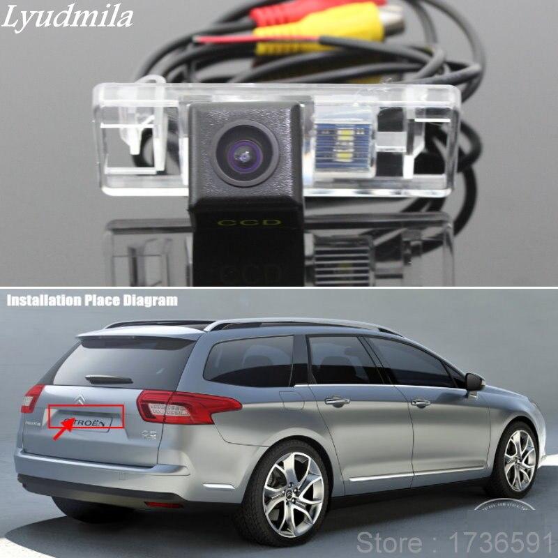 Lyudmila pour citroën C5 4D berline/5D hayon/SW voies de stationnement intelligentes sauvegarde inverse/guidage dynamique tragectoire