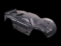 Пластиковый прозрачный корпус автомобиля для 1/5 hpi rovan kingmotor baja 5 t rc автомобиль газ запчасти