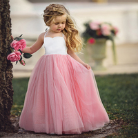 Children S Clothing Girls Princess Dress European And American Party Tuxedo Cotton Fashion Toddlers Girls Evening