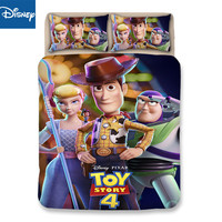 Disney toy story bedding set for children bed decor twin size duvet covers full bedspread 3/4pcs home textile promotion discount