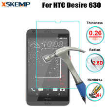 Tempered glass For HTC Desire 630 Premium 9H 0.26MM No Fingerprint Toughened Anti-glare Protective Ultra Clear Screen Protector