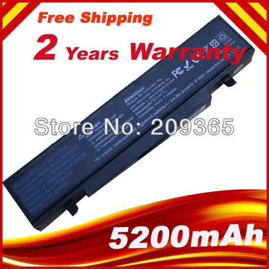 4400 mah bateria do portátil para samsung r540 r530 r528 rv520 rv511 aa-pb9nc6b r425 r525 r580 rc530 np300 aa-aa-pb9nc6w pb9ns6b