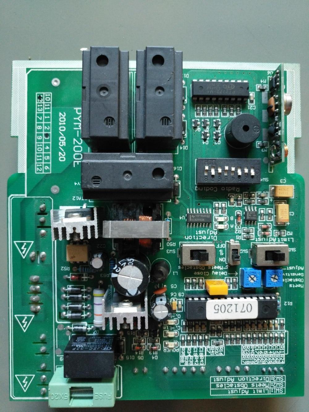 4 000 Pound Gate Opener Circuit Board Py1800 Sliding Gate