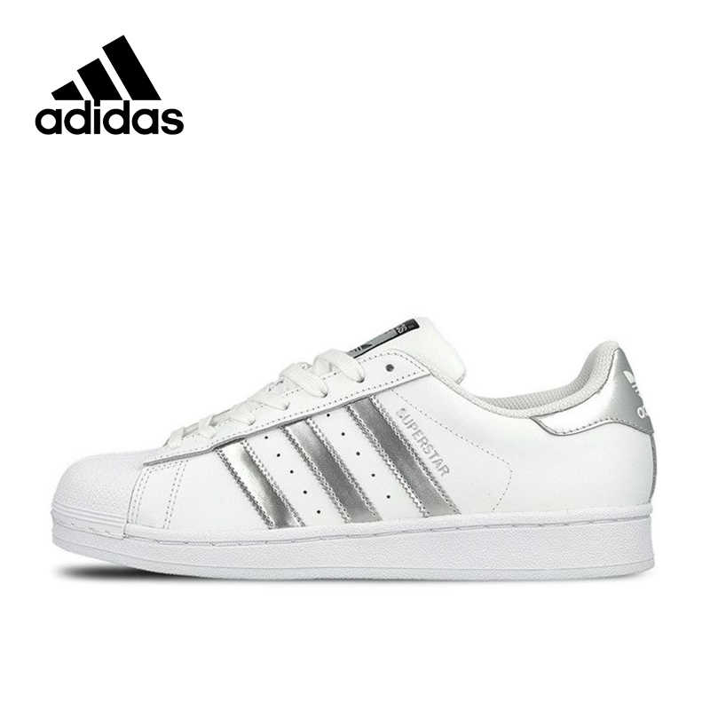 ADIDAS SUPERSTAR C77124 Originals White Black Gold Classic Fashion Mens Shoes 12