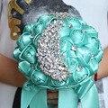Свадебные цветы Свадебные Букеты Великолепный кристалл Свадебный Букет Брошь букет свадебные аксессуары Невесты искусственный
