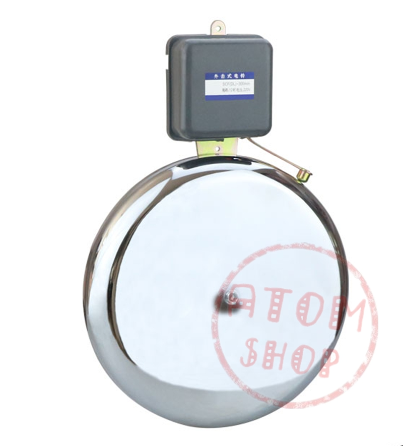 8 inch 200mm 220V strike bell school factory bell