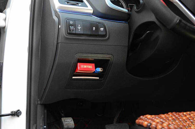 car fuse box coin container card slot car dashboard storage organizer  auto storage accessories for hyundai