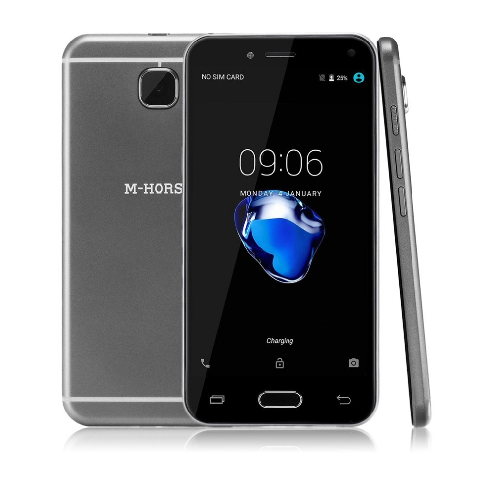 Цена за Origianl М HORSE C9 5.0 ''Умный Мобильный Телефон Dual SIM Карты Quad Core 512 М и 4 Г Сотовый Телефон Ультра Тонкий 5MP 2 МЕГАПИКСЕЛЬНАЯ Двойная Камера Телефона