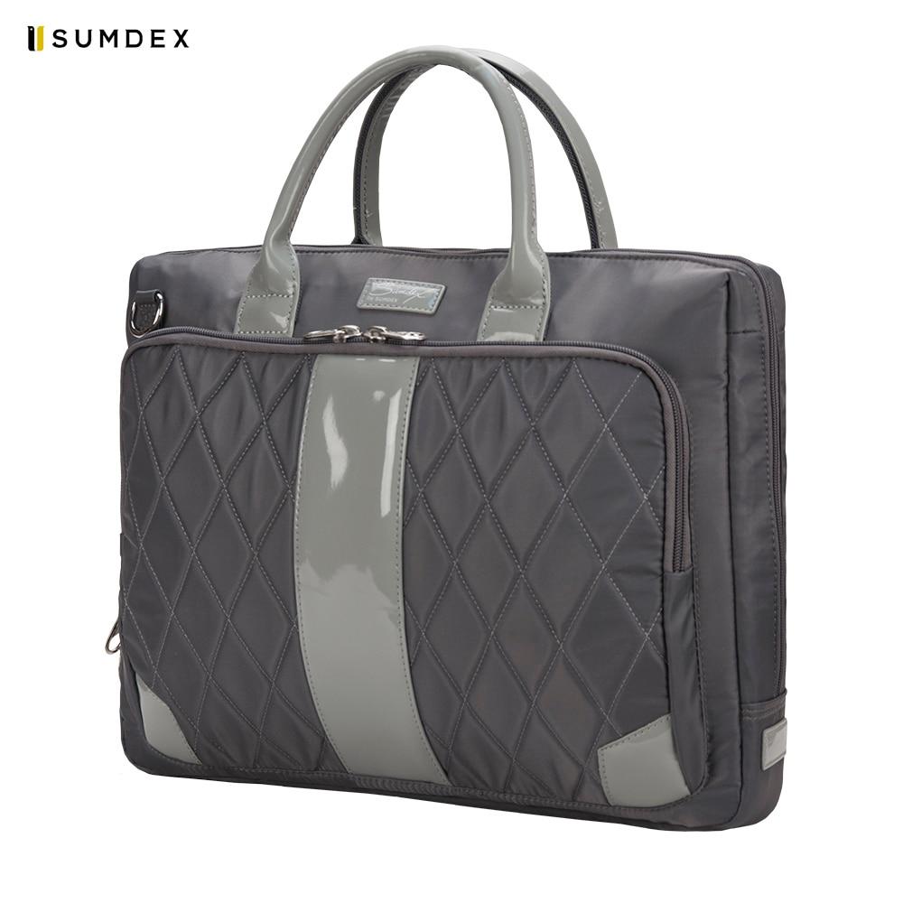 Laptop Bags & Cases Sumdex SUMPON136DG for laptop portfolio Accessories Computer Office for male female computer accessories