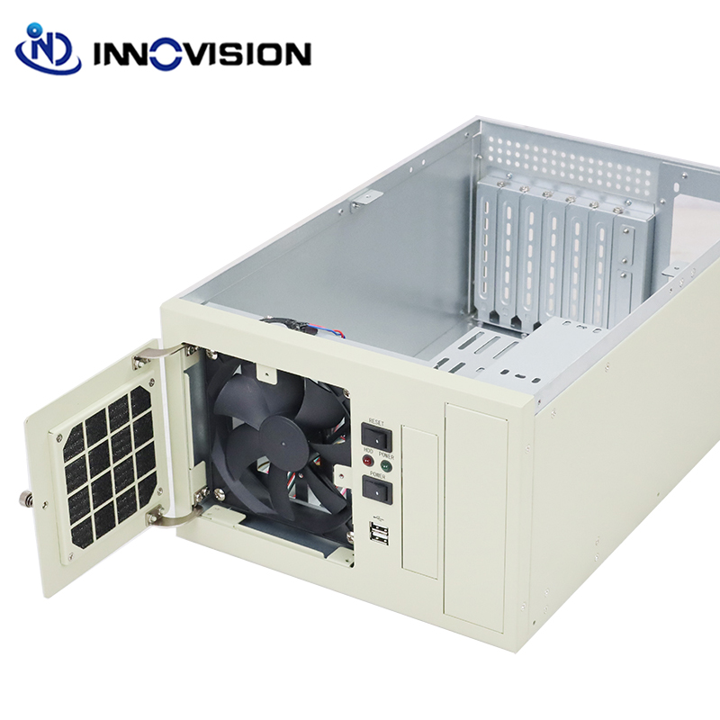 Image 4 - Compact wallmounted chassis IPC2406C industrial computer case supporting 6slot industrial ISA backplane-in Industrial Computer & Accessories from Computer & Office