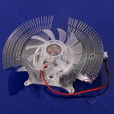 1PC Computer VGA Video Card Cooler Cooling Fan Heatsinks For NVIDIA -R179 Drop Shipping 55mm aluminum cooling fan heatsink cooler for pc computer cpu vga video card bronze em88