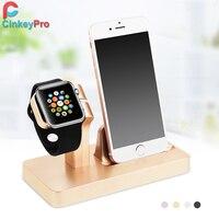 Rose gold Opladen Dock Station Beugel Cradle Standhouder Charger voor Apple iPhone 6 S Plus/6 Plus/6/5 5 S Voor ik horloge Cinkeypro