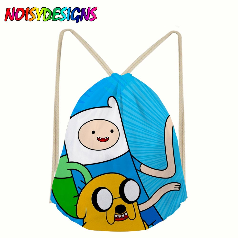 311f7c48404d US $7.2 40% OFF|3d backpack Adventure Time Drawstring Bag Sack Sport Gym  Travel Soy Luna Backpack Boys girls bags shoes Drawstring School bags-in ...