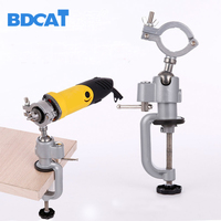 Grinder Accessories Electric Drill Stand Holder Electric Drill Bracket Used For Dremel Mini Drill Multifunctional Grinder