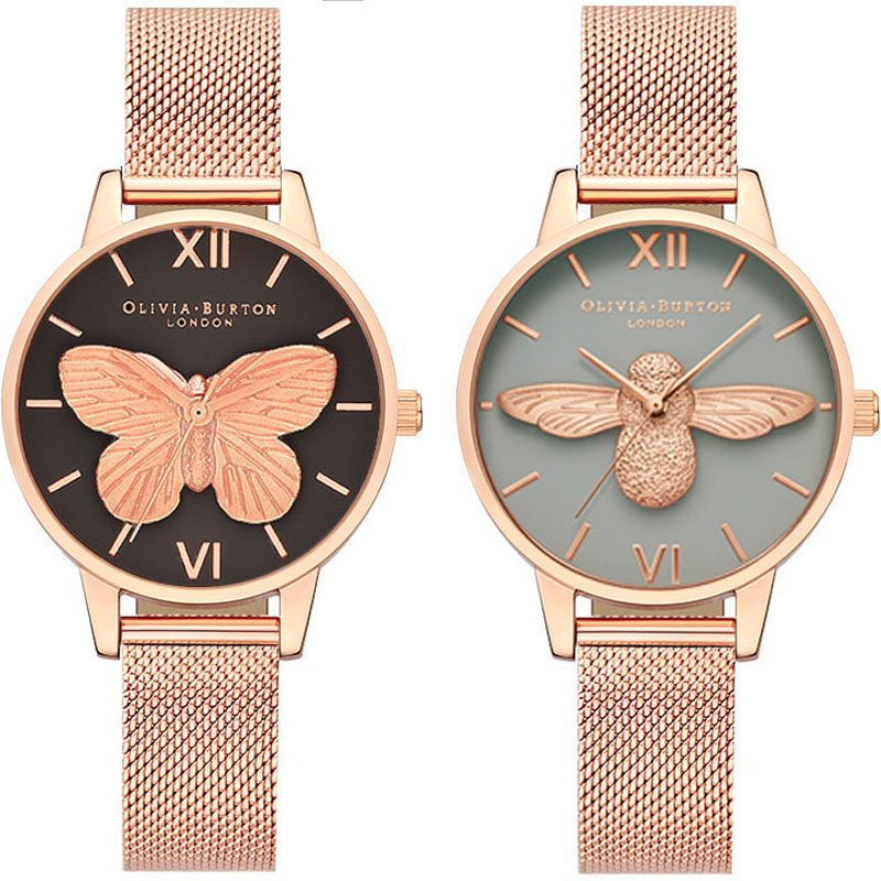 Women's Watches Olivia Burton Fashion Women Wrist Watch Luxury Ladies Watch Women Bracelet Reloj Mujer Clock Relogio Feminino