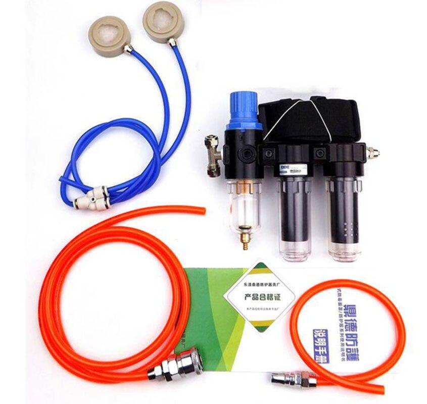 Toute Nouvelle Industrie Fonction D'air Alimenté Système Respiratoire Pour 3 m 6800 6200 7502 Série Masque Respirateur Gaz masque