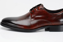 TOP quality new british style real cowhide leather qshoes shoes mens business dress luxury men fashion round-toe shoe y8-923