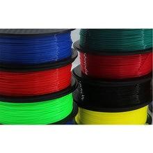 3D Printer PLA Filament 1.75mm Dimensional Accuracy+/-0.02mm 1KG 300M Safe Environmentally Friendly Printing Materials