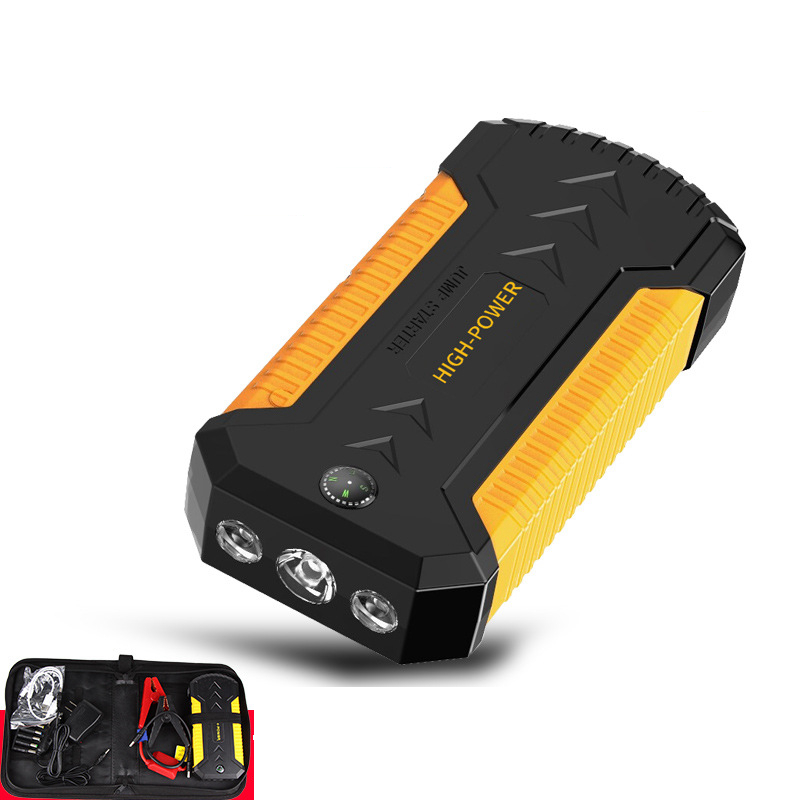 Car Emergency Power Jump Starter Power Bank 12V 600A Portable Battery Booster Charger 4 USB Petrol Diesel Car Starting Device image