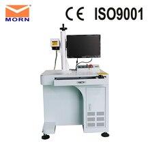 MORN Desktop Fiber Laser Marking Machine 20W 30W with Rotary Used Metal Marking Laser Engraving Machine metal stainless steel