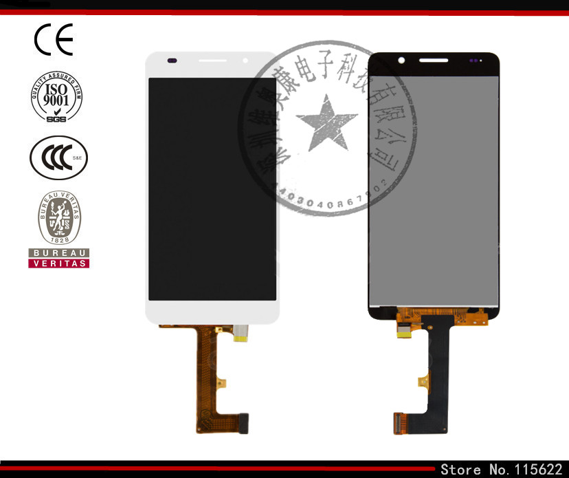 LCD for Huawei Honor 6 H60 L02 LCD Display Touch Screen Digitizer Glass black white